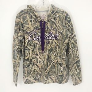 Cabelas Camo Hooded Sweatshirt